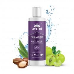 Ayumi bodywash tumeric & bergamot 250 ml
